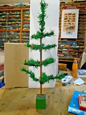 £9.99 • Buy Vintage 1960s Table Christmas Tree 22 Inches High See Pictures