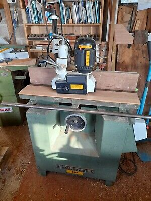 £900 • Buy Startrite T30 Spindle Moulder 240v Power Feed Tenon Table
