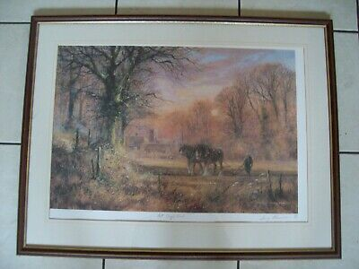 £4.99 • Buy Framed Limited Edition Print By Terry Harrison - No 36 Of 500 - Framed