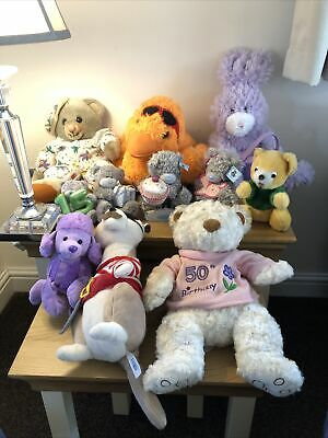 £1.95 • Buy Large Joblot Of Collectable Bears To Include Me To You Bears, Paws, Pms & More