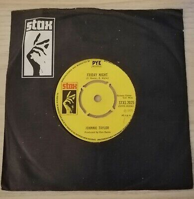 £5.90 • Buy JOHNNIE TAYLOR *FRIDAY NIGHT * I Ain't Particular Stxs 2025 NORTHERN SOUL Vg