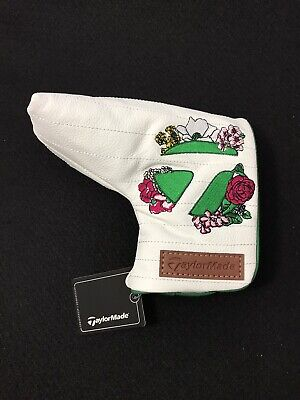 £32.62 • Buy NEW RARE TaylorMade 2021 Masters Season Opener Blade Putter Cover White Flowers