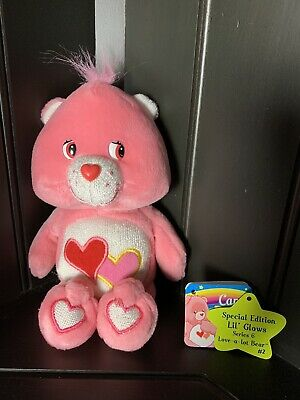 £13.04 • Buy Care Bear Lil Glows Love-A-Lot Bear 2004 HTF Collectible New With Tags Removed