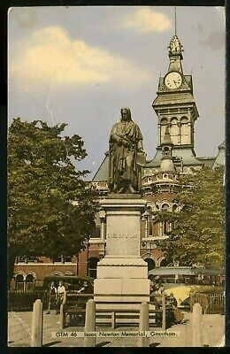 £0.50 • Buy #206 Old FRITH Postcard - Isaac Newton Memorial, Grantham - Posted 1967