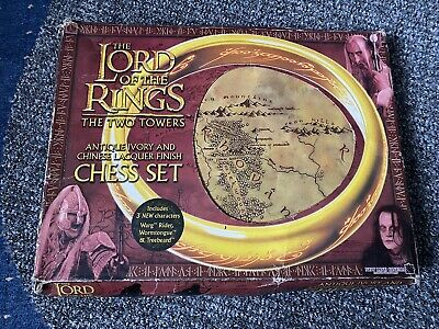 £17 • Buy Lord Of The Rings : The Two Towers Chess Set