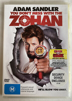 AU6.50 • Buy DVD - You Don't Mess With The Zohan (2008 Movie) PAL Region 4 - Adam Sandler