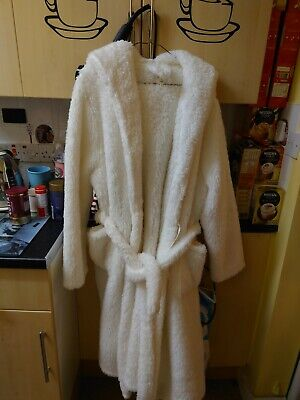 AU27.59 • Buy Next Cream Very Fluffy Beautiful Nearly New Dressing Gown Size XL Long Tried It