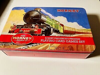 £1.99 • Buy Hornby Train Lovers Premium Playing Card Games Set In Tin Box