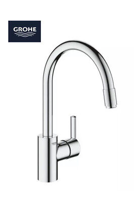 £137.49 • Buy Grohe Feel 32671002 Single Lever Sink Mixer Tap With Pull-out Spray Chrome