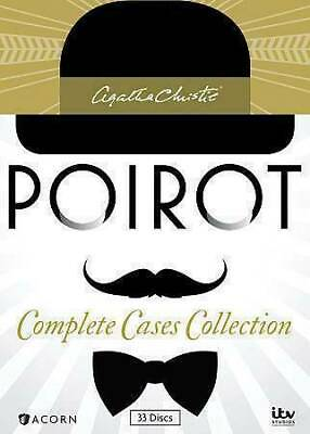 £54.25 • Buy Agatha Christie's Poirot:Complete Cases Collection (DVD, 2014, 33-Disc Box Set)