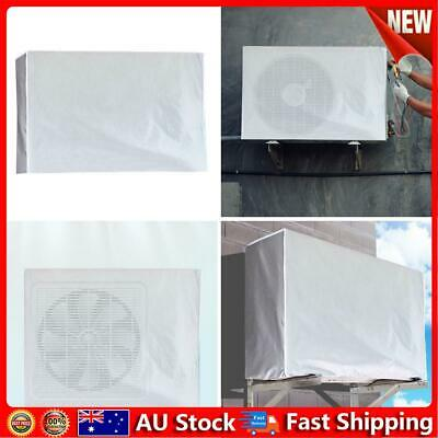 AU14.09 • Buy Outdoor Air Conditioner Cover Anti-Dust Waterproof Sunproof Cover (2p) Hot
