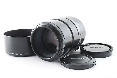 AU93.47 • Buy 【EXC】 Minolta AF 100mm F/2.8 MACRO Lens For Sony A Mount From Japan 858654
