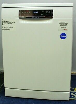 View Details Graded SMS67MW00G BOSCH Freestanding Dishwasher - 14 Place - D Ene 266966 • 429£