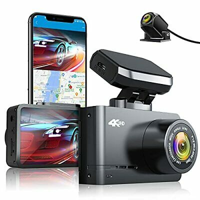 AU169.65 • Buy AUTOWOEL 4K Dash Cam Front And Rear With WiFi & GPS Dual Dash Cam Car Camera ...