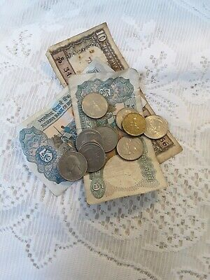 £1.45 • Buy Foreign Currency Old Notes And Coins Job Lot