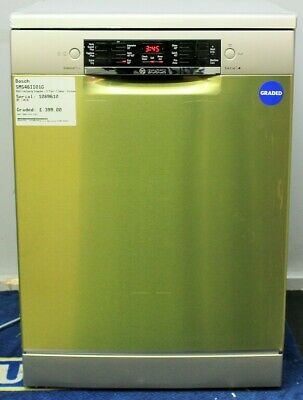View Details Graded SMS46II01G BOSCH Freestanding Dishwasher - 13 Place - E Ene 266961 • 399£