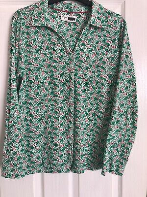 £3 • Buy Mistral Size 16 Green/ Red/ White Multi  Long Sleeve Top