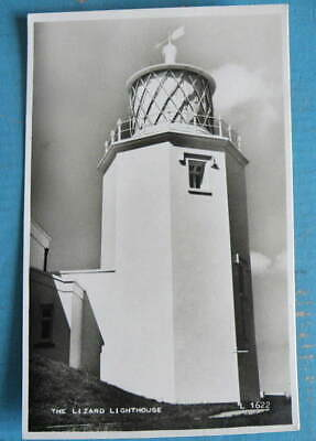 £2 • Buy Early Valentines B/W RP POSTCARD -  The Lizard Lighthouse, Cornwall