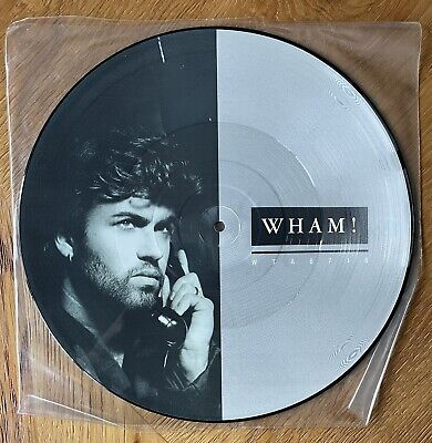 """£7.99 • Buy Wham I'm Your Man 12"""" Picture Disc George Michael Andrew Ridgeley 1985"""