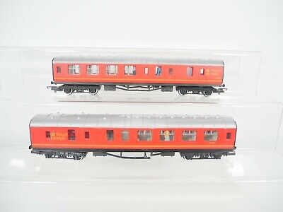 £16.99 • Buy 2 X Hornby OO Gauge Royal Mail Coaches *please Read