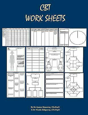 £11.58 • Buy CBT Worksheets: CBT Worksheets For CBT Therapists In Training: Fo