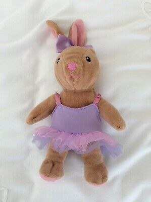 £4.50 • Buy Build A Bear Workshop Spinmaster Plush Ballerina Bunny With Tutu And Bow 8 Inch