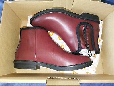 £17.50 • Buy New Rocket Dog Rancho Burgundy Ankle Boots Size 4