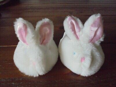 £2.99 • Buy Build A Bear Rabbit Slippers Fab Condition