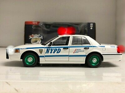£57.99 • Buy POLICE NYPD New York Ford WORKING LIGHTS CHASE GREEN MACHINE Greenie