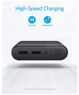 AU56.50 • Buy Anker PowerCore 13000 - Portable Charger Compact 13000mAh 2Port Ultra Portable W