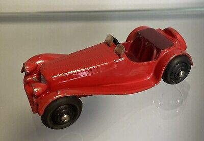 £19.99 • Buy Dinky Toys Early Version Jaguar SS100 Sports Car 1940s Dinky Toy Cars Red