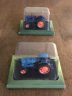 £6 • Buy TWO Hachette Fordson Scale Model Tractors 1/43 Diecast SEALED EXCELLENT