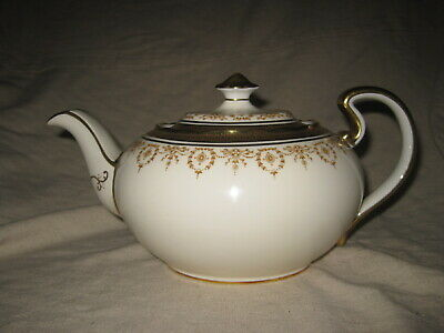 £72.51 • Buy Ansley GOLD DOWERY 7892 Teapot Bone China Chinacraft London Made In England