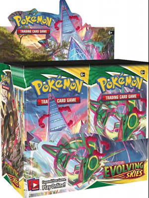 AU220 • Buy POKEMON Sword And Shield Evolving Skies Sealed Booster Box Arriving This Week!!