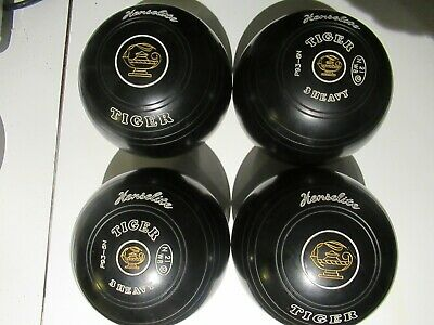 £250 • Buy Rare Non Gripped Henselite Tiger Lawn Bowls Size 3 Heavy Wb21 Great Condition
