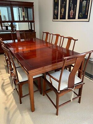 AU2000 • Buy Gorgeous Rosewood Dining Table + 8 Chairs. Great Condition. Bargain. Wahroonga