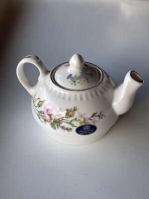 £10 • Buy Aynsley Fine Bone China Teapot Made In England Floral Pattern
