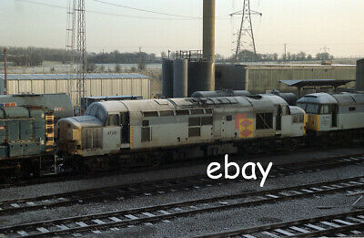 £0.99 • Buy Original 35mm Colour Negative Of Class 37 37101 At Tinsley