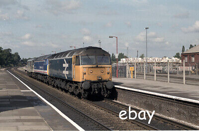 £0.99 • Buy Original 35mm Colour Negative Of Class 47's 47822 And 47521 At Acton Main Line