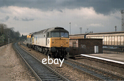 £0.99 • Buy Original 35mm Colour Negative Of Class 47 47004 And Cl37 37054 At Acton M L