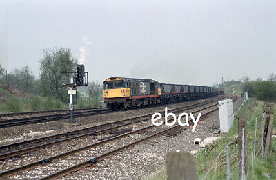 £0.99 • Buy Original 35mm Colour Negative Of Class 58 58023 At Clay Cross South Junction