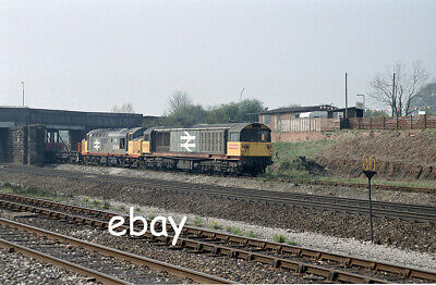 £0.99 • Buy Original 35mm Colour Negative Of Class 58 58032 & Cl37 37519 At Clay Cross Sth J