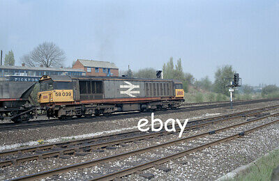 £0.99 • Buy Original 35mm Colour Negative Of Class 58 58039 At Clay Cross Sth Junction