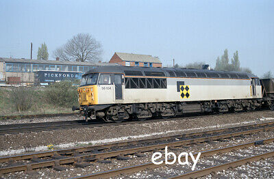 £0.99 • Buy Original 35mm Colour Negative Of Class 56 56104 At Clay Cross Sth Junction