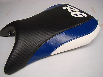 $51 • Buy YAMAHA 99 00 01 02 YZF R6 FRONT SEAT COVER Blk/blue/wht
