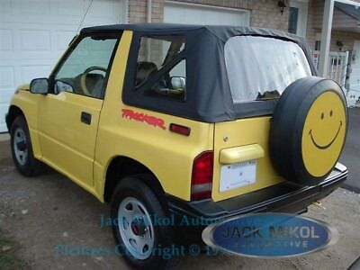 AU218.25 • Buy 88-94 Suzuki Sidekick Geo Tracker Vitara Replacement Soft Top Black