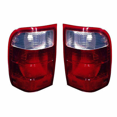 $55.49 • Buy New Pair (Left & Right) Tail Lights Fits 2001-2005 Ford Ranger Without STX Trim
