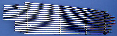 $49.99 • Buy 01-04 TOYOTA Tacoma(cover 3 Holes) BILLET GRILLE GRILL Insert Only