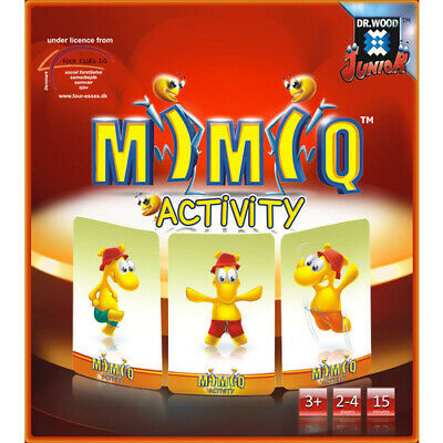 AU19.97 • Buy DR.WOOD MIMIQ FUN Educational Toy ACTION PRESCHOOL GAME For Kids Of ALL AGES