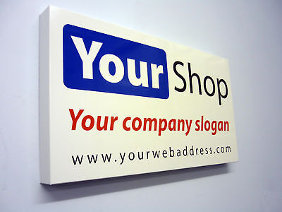 Shop Front Sign Tray Folded Alu Composite Any Size • 59.95£